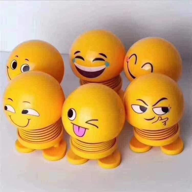 Thú nhún emoji lò xo giao hình ngẫu nhiên