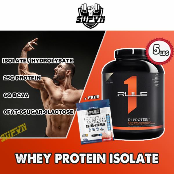 Rule 1 Protein 5Lbs - Sữa tăng cơ Rule1 - Whey Protein R1 cao cấp