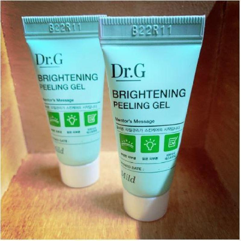 Combo 2 Sample Tẩy da chết Dr.G Brightening Peeling Gel Made in Kore