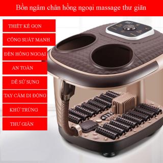Bồn ngâm chân massage cao cấp tiện dụng chất liệu cách điện, an toàn cho người dùng món quà sức khỏe tặng người thân và gia đình Bảo hành 2 năm lỗi đổi mới trong 7 ngày thumbnail