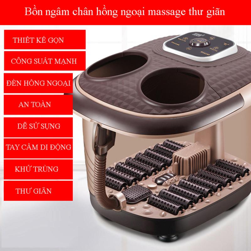 Máy Massage bồn ngâm chân cao cấp,Giúp cơ thể khỏe mạnh, sảng khoái, tinh thần minh mẫn, giảm strees nhanh chóng cao cấp