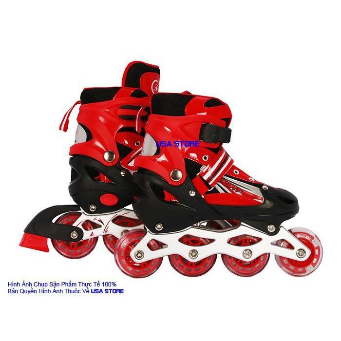 Mua Giày Trượt Patin QF Thế Hệ Mới (Tặng Bộ Bảo Hộ Chân Tay 6 Món)