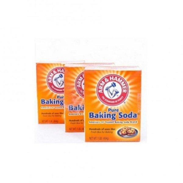 Bột Baking Soda ARM & HAMMER 454gr - COMBO 3 HỘP
