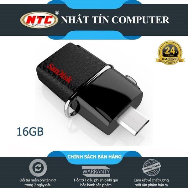 Bảng giá USB OTG Sandisk 3.0 Ultra Dual 16GB 130MB/s (Đen)  - Nhất Tín Computer Phong Vũ