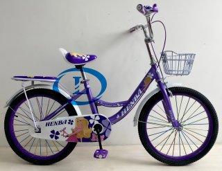 Xe đạp 20 inch nữ HENBA cho học sinh cấp 1 cao dưới 1m4 1