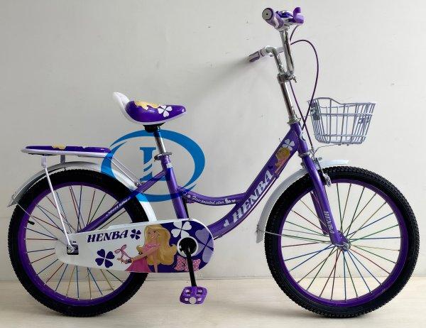 Mua Xe đạp 20 inch nữ HENBA cho học sinh cấp 1 cao dưới 1m4