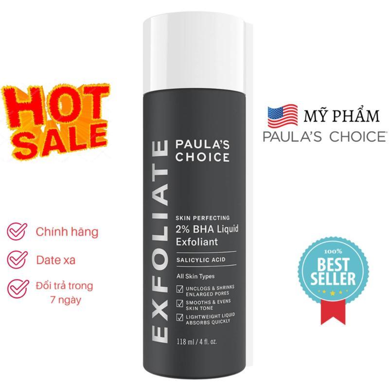 PAULA'S CHOICE Skin Perfecting 2% BHA Liquid Exfoliant - Dung Dịch Loại Bỏ Tế Bào Chết Hóa Học nhập khẩu