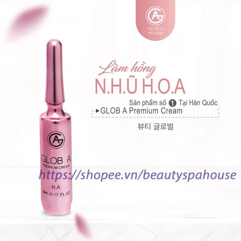 Kem làm hồng nhũ hoa Glob A NA Premium Cream  5ml Hàn Quốc nhanh và hiệu quả cao cấp