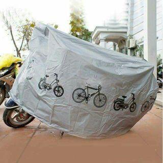 Bạt Phủ Xe Máy, tấm trùm Bảo vệ xe máy, Xe Đạp, Giảm Gía Cực Sâu Và Sốc, MUA NGAY thumbnail