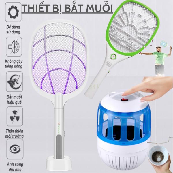 Máy bắt muỗi (đèn bắt muỗi), Vợt muỗi thông minh, Vợt muỗi Rạng Đông - Hút muỗi mạnh mẽ trong diện tích lớn, Bảo Hành 1 Năm, Đổi mới miễn phí trong vòng 7 ngày