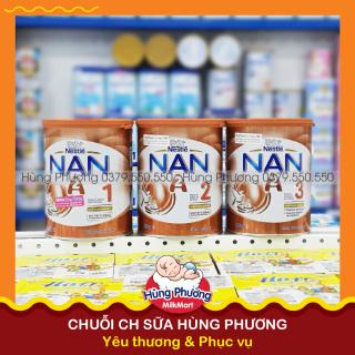 Sữa NAN A2 Nội Địa Úc đủ số 1,2,3 - 800gr (lon) thumbnail