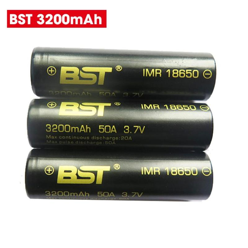 Pin sạc 3.7V 3200mah 18650 BST dòng xả Cao 50A (1 viên)