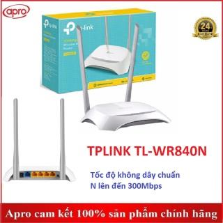 BỘ THU PHÁT WIFI TP-LINK CHUẨN N TL-WR840N TL-WR841N 300MBPS CHÍNH HÃNG - APRO thumbnail