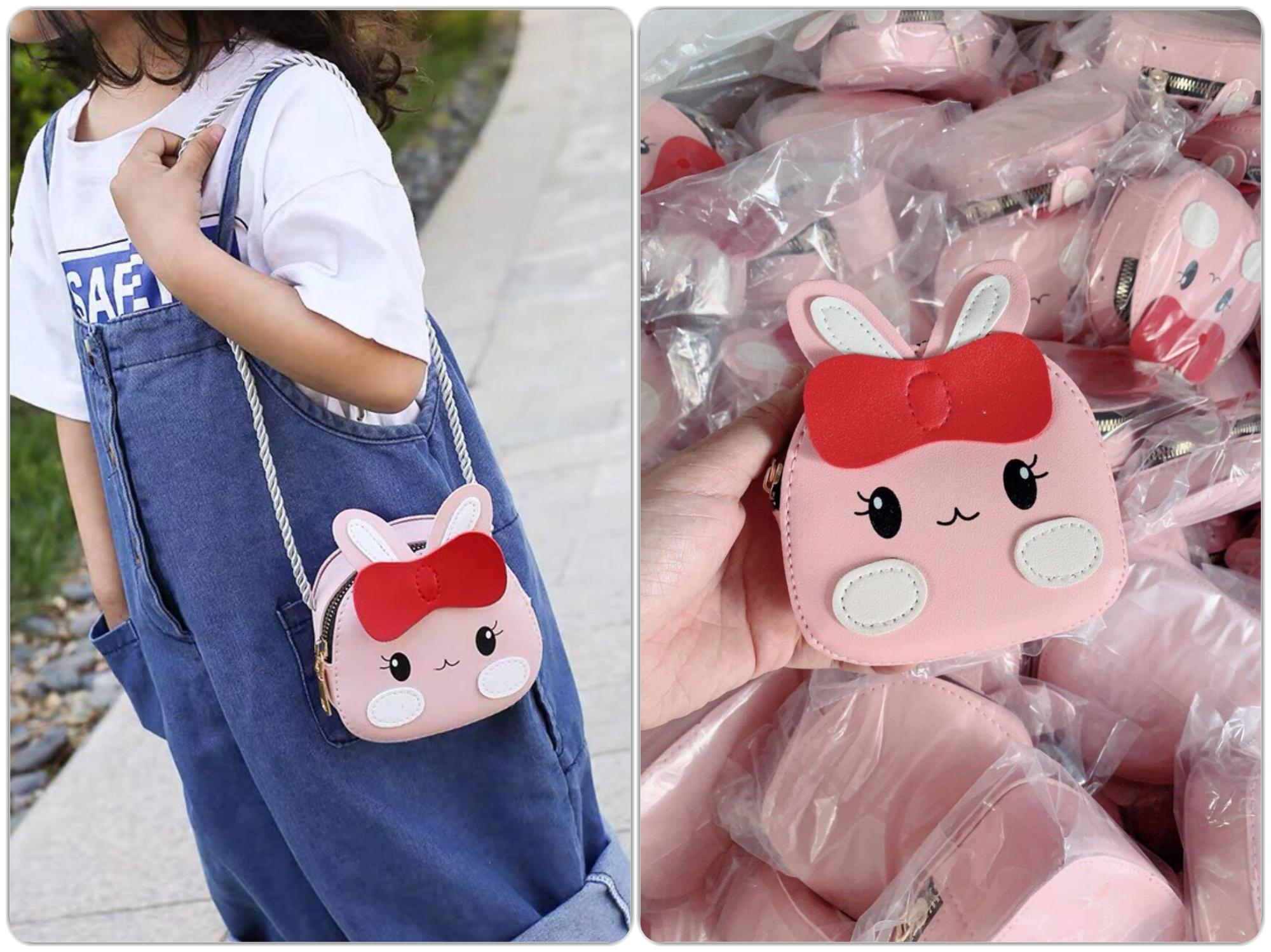 Giá bán Túi đeo chéo hình thỏ siêu xinh cho bé gái