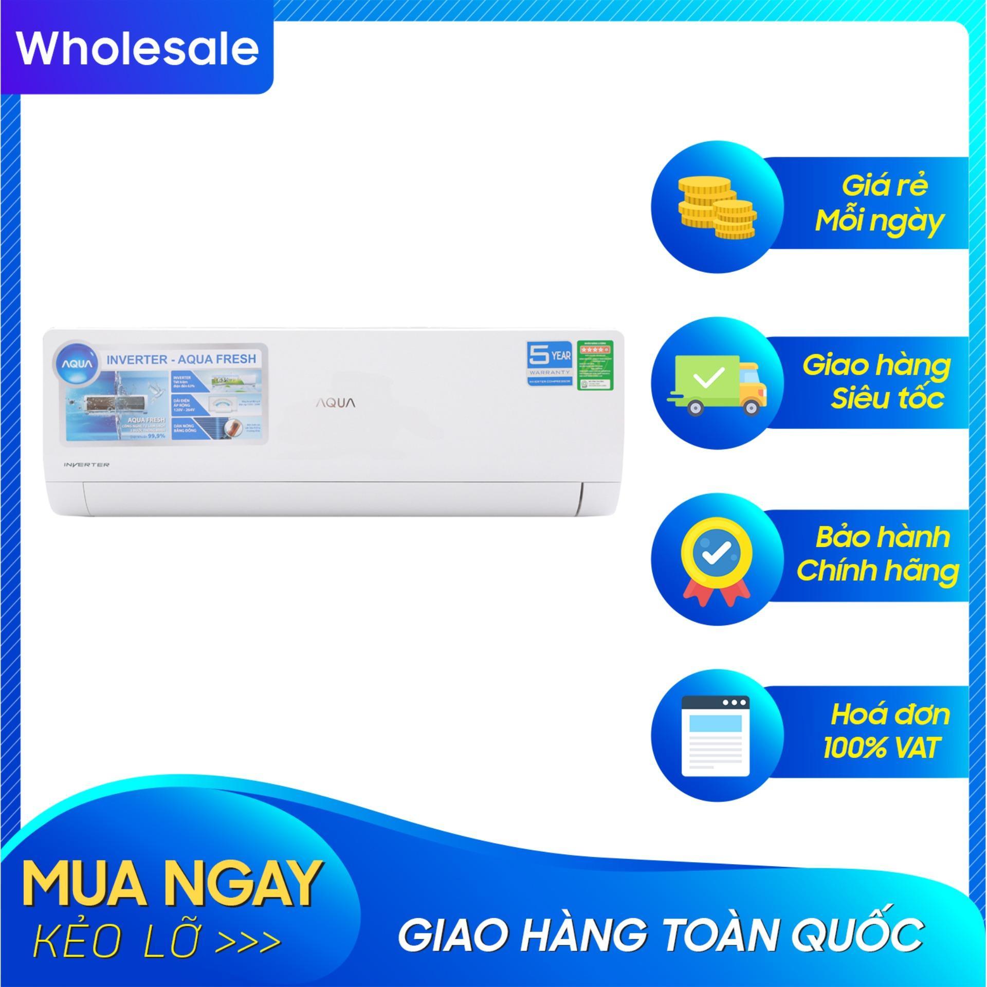 Bảng giá Máy lạnh Aqua Inverter 1.5 HP AQA-KCRV12WJB