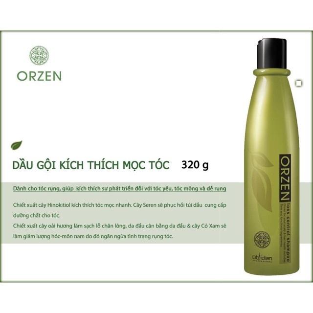 Dầu gội thảo dược thiên nhiên ORZEN Orgahealing 320g - Kích thích mọc tóc