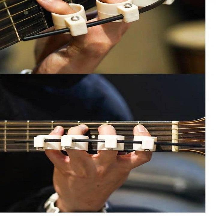 Dụng cụ tập tách ngón tay loại 1 (Dụng cụ tập giãn tách ngón tay tập đàn guitar và piano)