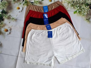 Combo 5 Quần Đùi Mặc Váy Cotton big size màu ngẫu nhiên (từ 55kg đến 100kg) thumbnail