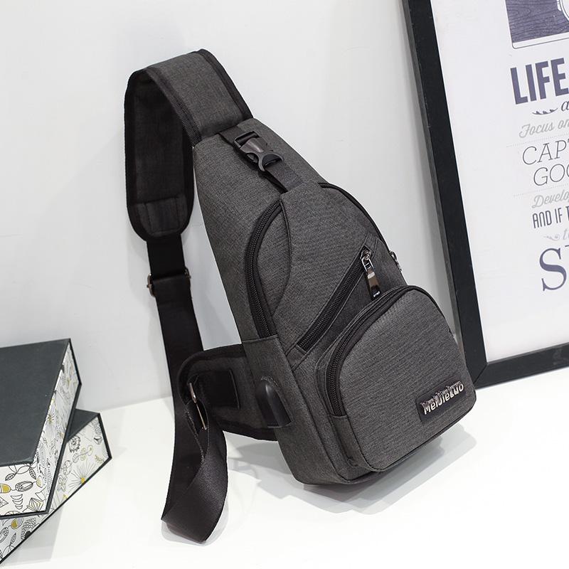 Túi đeo Chéo Nam, Nữ Thời Trang Siêu Nhẹ Có Cổng Nối Sạc USB Tiện Lợi , Nhiều Ngăn Tiện Dụng, Chất Liệu Da PU Cao Cấp Thiết Kế Hiện đại Trẻ Trung Năng động TDCN08 - Tặng Cáp Sạc USB Uzi Có Giá Rất Cạnh Tranh