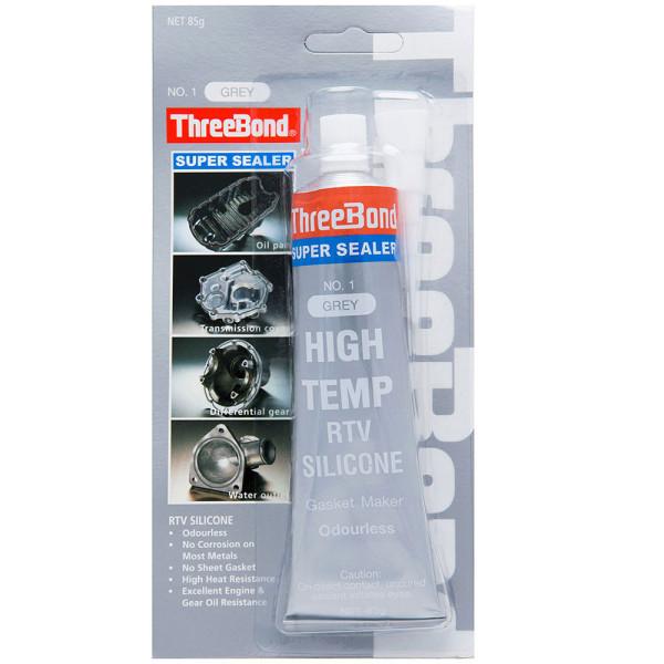 Keo Tạo Gioăng Máy Chịu Nhiệt Độ Cao màu xám-Threebond Super Sealer No.1 gray high temp rtv silicone 85gam
