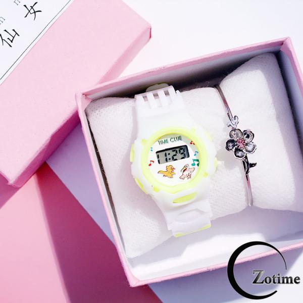 Nơi bán Đồng hồ trẻ em điện tử thời trang dây cao su ZO81