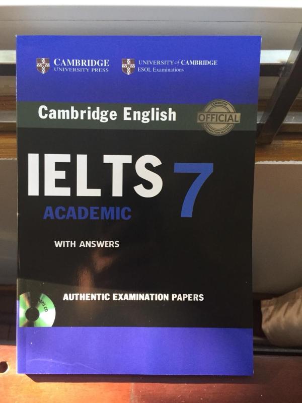 Mua Cambridge IELTS 7 không CD