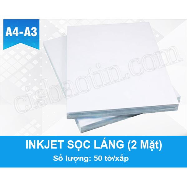 Mua GIẤY INKJET SỌC LÁNG- KHỔ A3- XẤP 50 TỜ