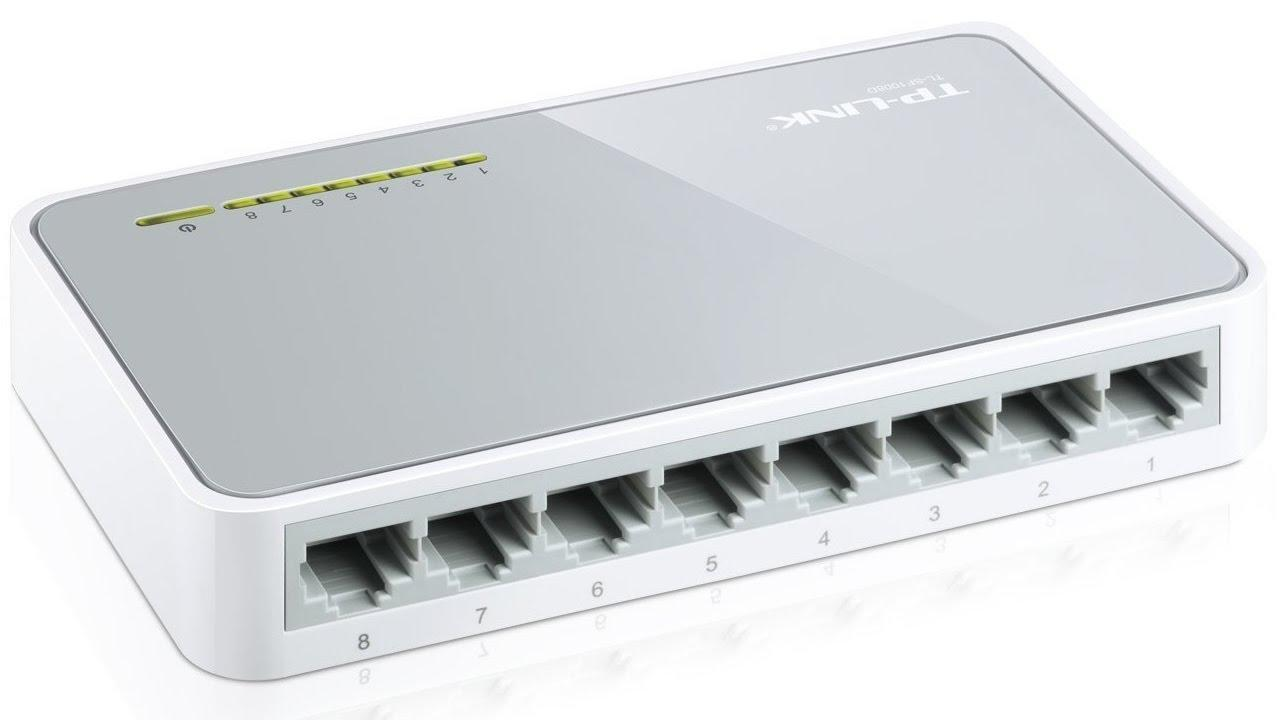 Switch TP-LINK 100M 8 cổng TL-SF1008D