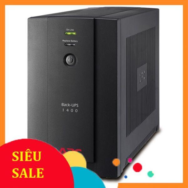 Bảng giá ♻️CHÍNH HÃNG♻️ Bộ lưu điện UPS APC Back-UPS (1400VA, 230V, AVR, Universal and IEC Sockets) (BX1400U-MS) Phong Vũ