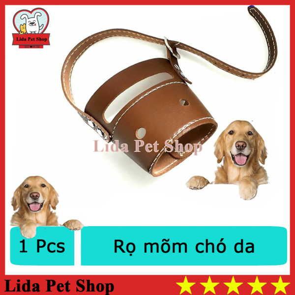 HN- Rọ mõm chó da loại mõm dài - size 3 cho chó 5-8kg ( 605c)-HP10481TC