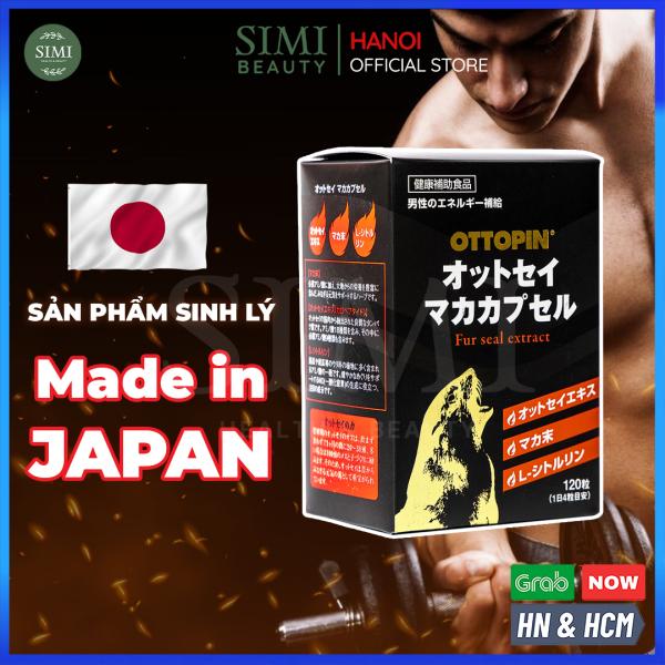 Sinh lý nam giới OTTOPIN Nhật Bản cao cấp kéo dài thời gian quan hệ, viên uống cải thiện yếu sinh lí, rối loạn cương dương, tăng cường sinh lực, hỗ trợ sức khoẻ tình dục đàn ông