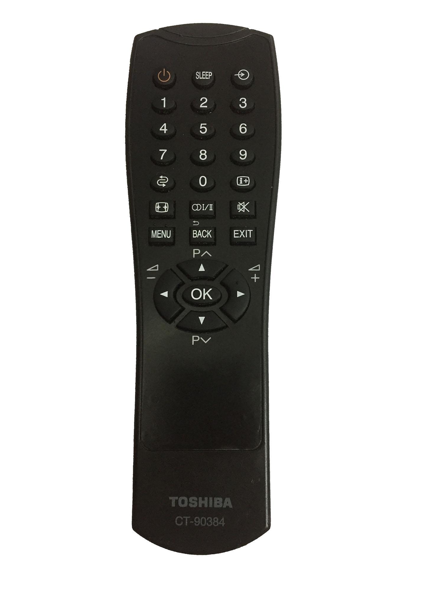 Bảng giá Điều khiển tivi TOSHIBA LCD CT-90384 xịn (đen)