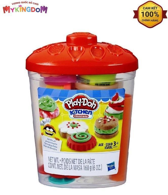 Đồ Chơi Hộp Bánh Cookie Ngọt Ngào PLAYDOH E2125 Với Giá Sốc