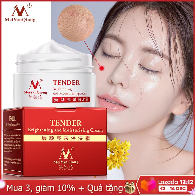 MeiYanQiong kem dưỡng ẩm thu nhỏ lỗ chân lông chăm sóc da mặt, kem làm trắng sáng da tinh chất dịu dàng chống lão hóa làm mờ và loại bỏ nếp nhăn hiệu quả - INTL giá rẻ