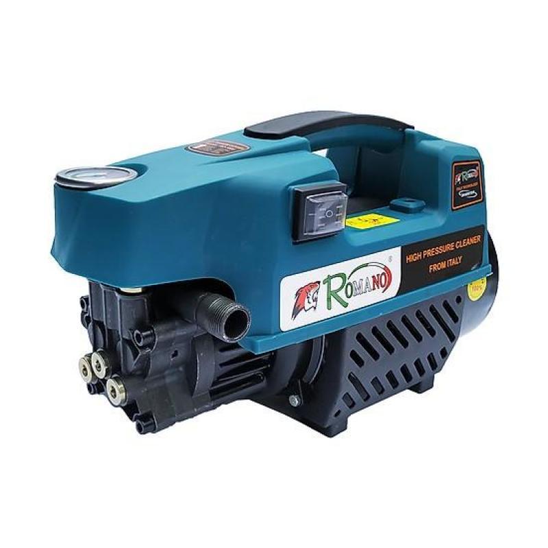 Máy rửa xe gia đình Romano, Máy rửa xe công suất mạnh đánh bay mọi vết bẩn - Tặng bình xịt tuyết