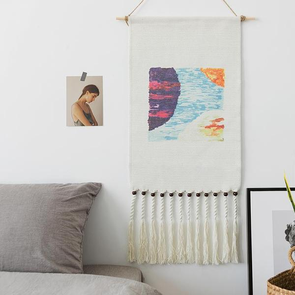 Bedroom Tapestry Tapestry Wall Hangers Bedside B & B Decorative Painting Background Cloth INS Cloth Wall Cloth Online Celebrity Northern Europe Weaving
