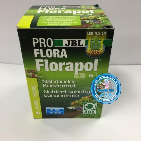 JBL Florapol - Cốt nền dinh dưỡng đậm đặc cho hồ thuỷ sinh 350G