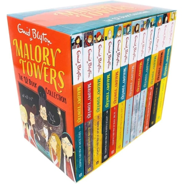 Malory Towers Box set Collection – 12 Cuốn – Sách tiếng anh