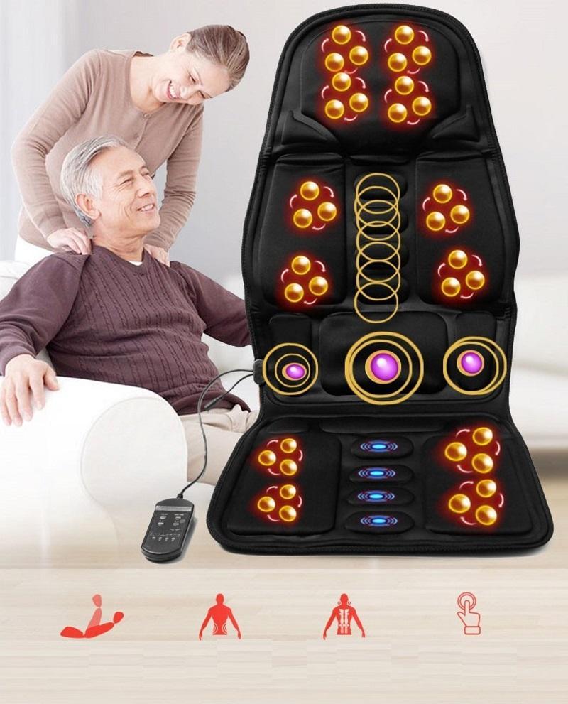 Ghế massage - Mua ghế massage - Đệm massage hồng ngoại - Ghế matxa công nghệ nhật bản cho cảm giác massage sâu và chân thực. cao cấp