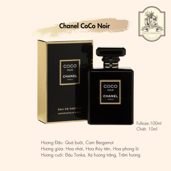 [Nhập Khẩu Chính Ngạch] Nước Hoa Nữ Chính Hãng Chanel Coco Noir EDP 100ml