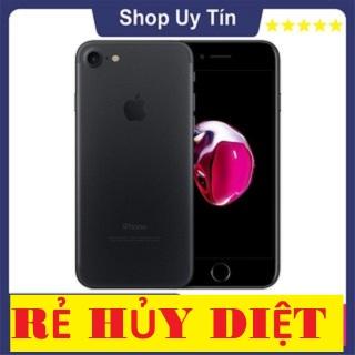 [ MÁY HÃNG - GIÁ SỐC ] điện thoại Apple Iphone 7 bộ nhớ 128GB QUÔ C TÊ RAM 2 GB Quad-core 2.34GHz Chipset AppleA10 Fusion Màn Hình 4.7 inches Camera sau 12MP Selfie 7MP Đẳng Cấp, FULL VÂN TAY thumbnail