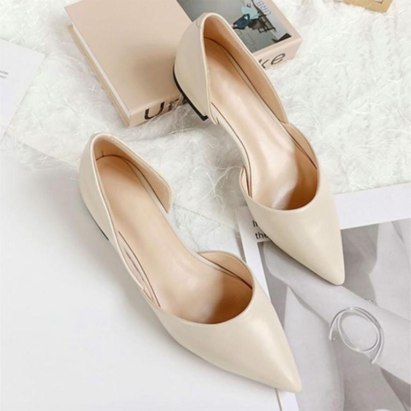 Giày bệt mũi nhọn cực tôn dáng mã b8 giá rẻ