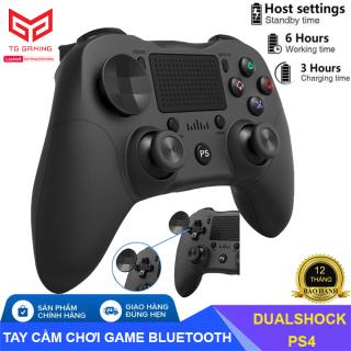 Tay cầm chơi game, bộ điều khiển chơi game không dây bluetooth PS4 DualShock 4 Rung Tay Cầm Chơi Game Cho Máy Chơi Game Playstation 4 Máy Tính thumbnail