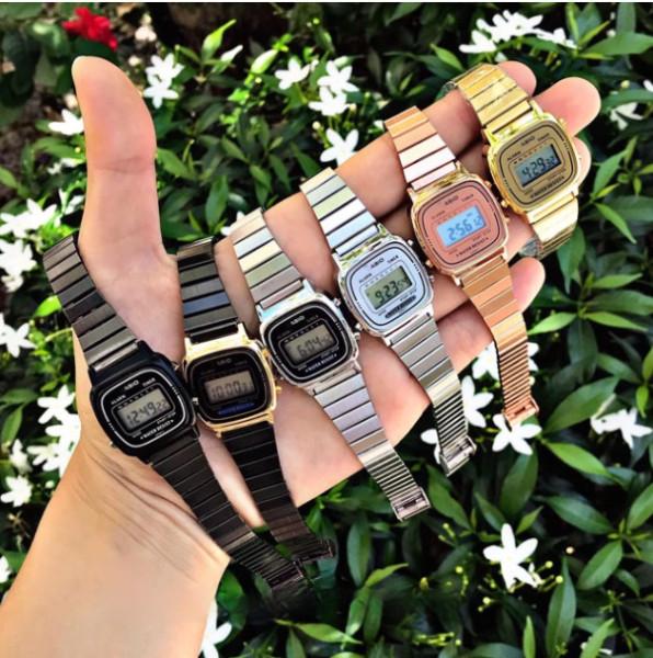 Đồng hồ nữ Casio LA670 quý phái, siêu phẩm casio Full box tặng kèm pin, cam kết bảo hành bán chạy
