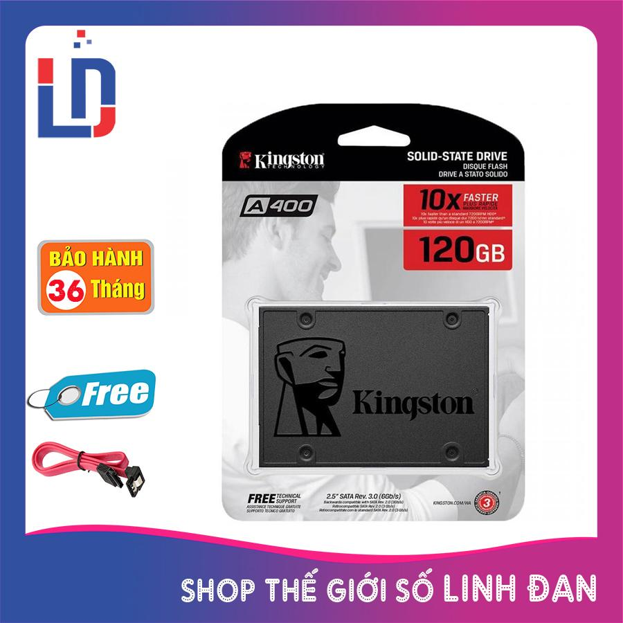 Ổ cứng SSD kingston 120GB A400 SATA III 2.5 inch tem Vĩnh xuân - Viết sơn