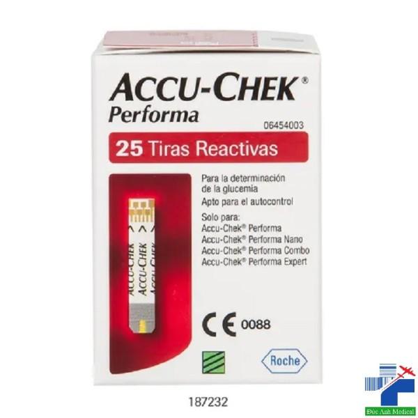 Nơi bán Que thử đường huyết Accu-check Performa [hộp 25 test]