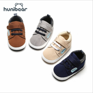 0-18M Mùa Thu Thời Trang Bé Trai Chống Trượt Giày Sneakers Toddler Mềm Đế Đi Bộ Đầu Tiên
