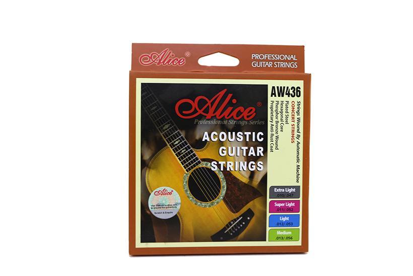 Cơ Hội Giá Tốt Để Sở Hữu Dây Đàn Guitar Acoustic Alice AW436 - Piano Fingers