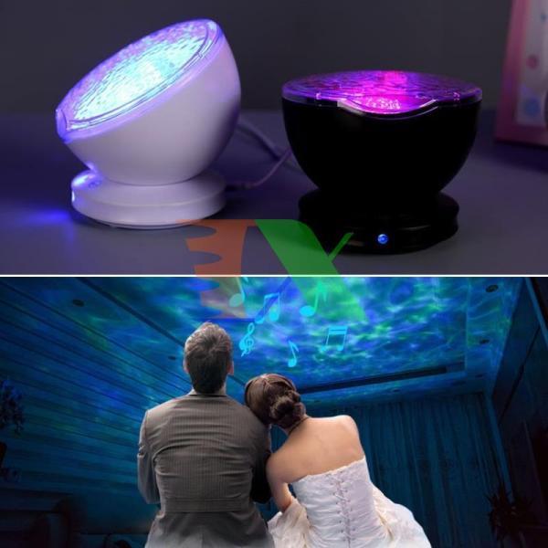 Bảng giá Đèn ngủ sóng biển, Loa âm thanh 3D, Máy chiếu sóng biển sản phẩm cao cấp