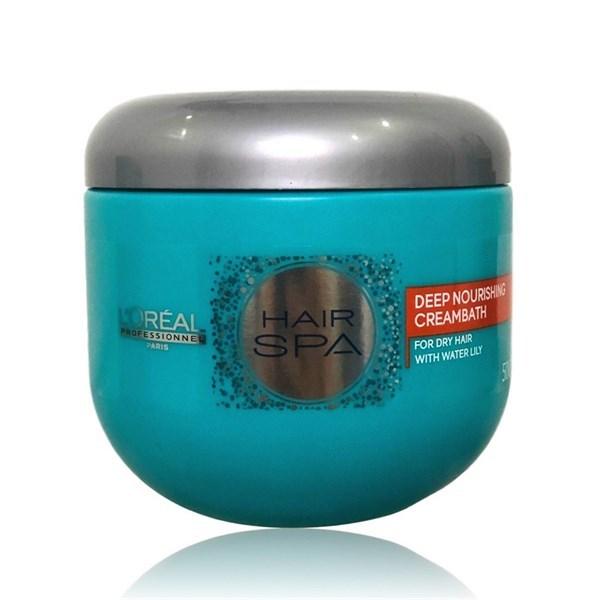 [hàng chuẩn công ty] Hấp dầu Loreal Hairspa xanh cho tóc khô hư tổn 500ml- Hũ giá rẻ